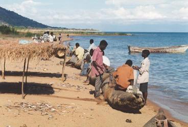 AM_rybari_jezero Malawi