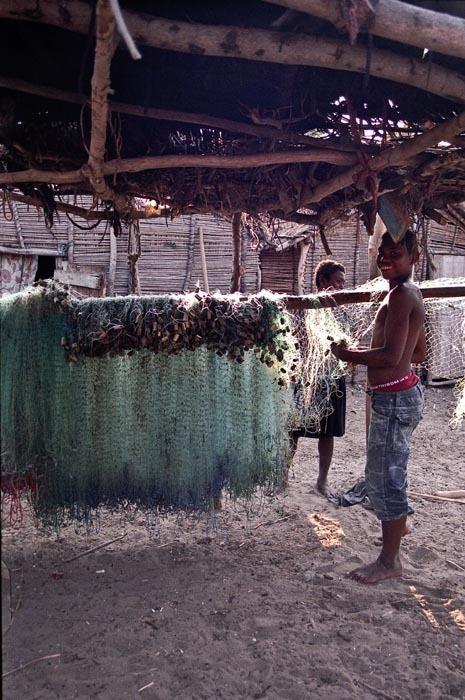 Rybářsk sítě, Madagaskar