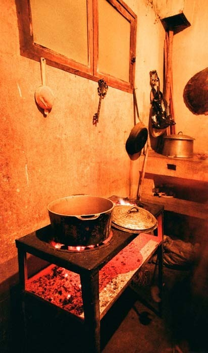 Vybavení malagašské kuchyně, Madagaskar