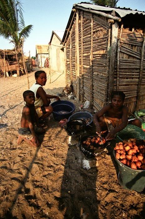 Kuchyně, Madagaskar