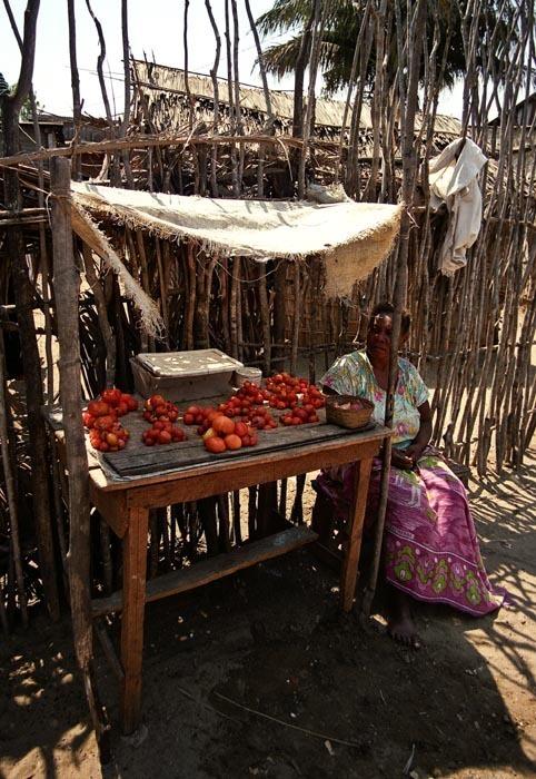 Pouliční prodej, Madagaskar