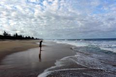 Na pláži Tamatave