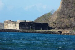 francouzská pevnost Antsiranana (Diego Suarez)