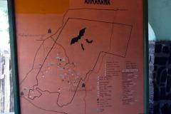 Mapa tras v N.P. Ankarana