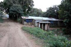 Obydlí Malagašů z Joffreville, Madagaskar