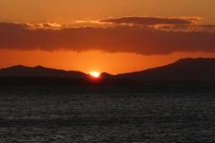západ slunce Antsiranana (Diego Suarez)