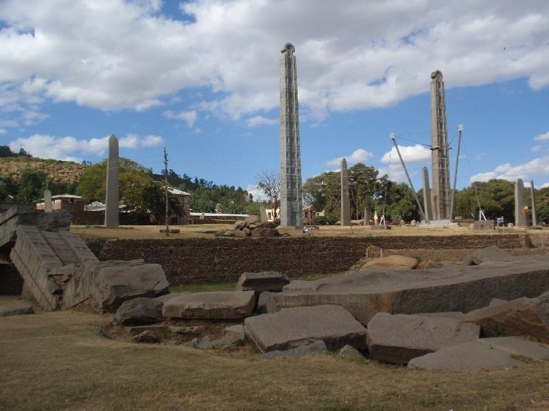 Axum Stelae Field, Axum, Etiopie (foto: Víťa Glomb)