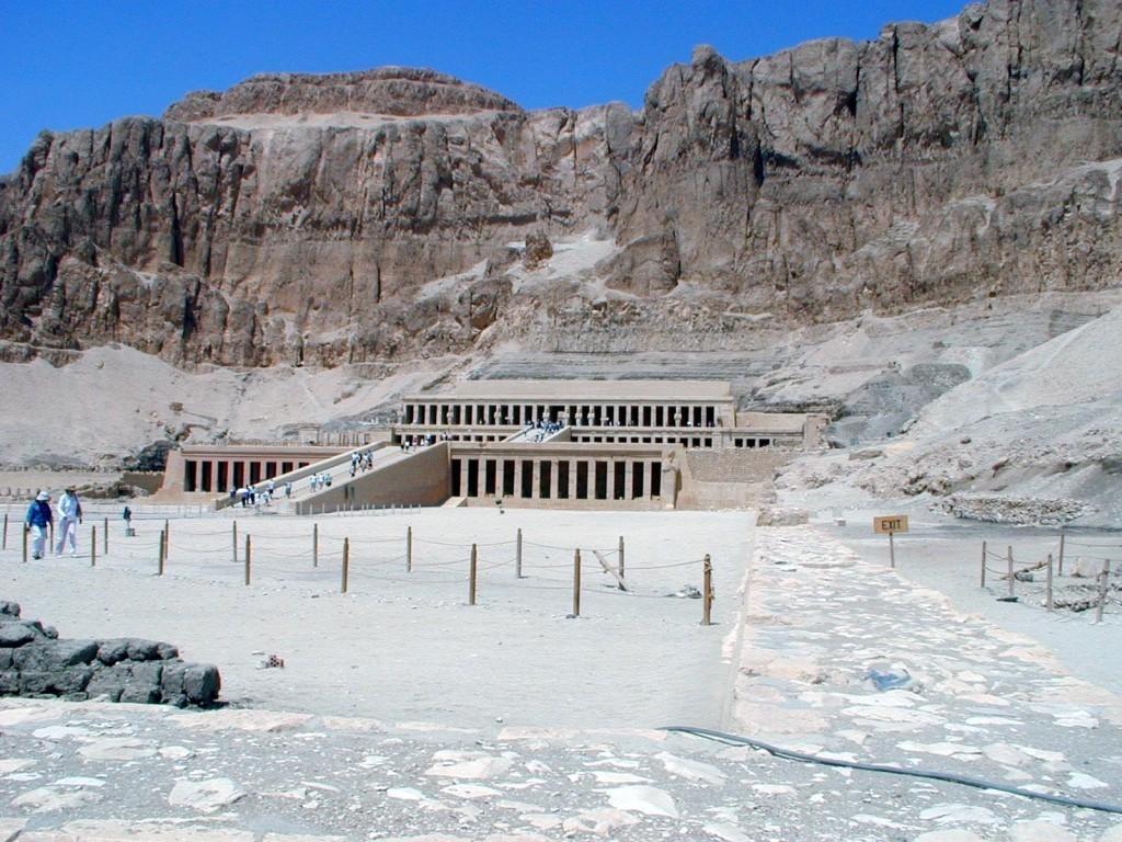 Chrám královny Hatšepsut (foto: Ondřej Zikán)