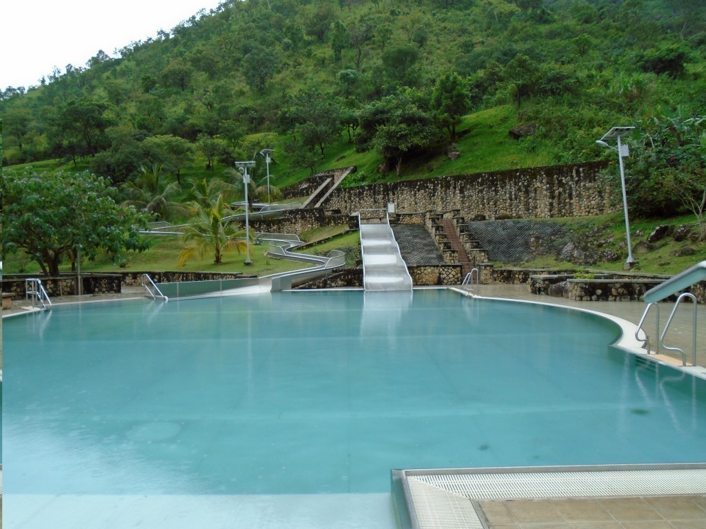 Cross River National Park - bazén v Cattle Ranch Resort