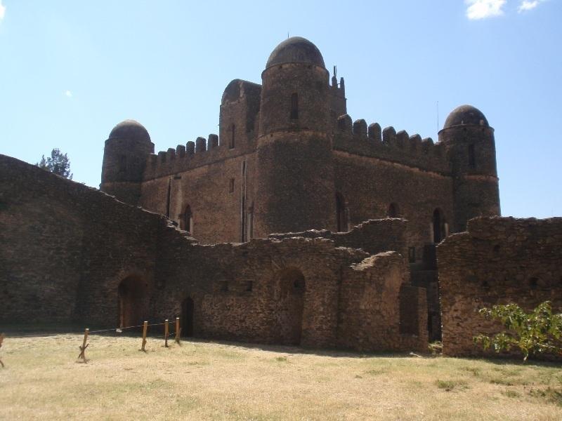Royal Enclosure, Gonder, Etiopie (foto: Víťa Glomb)