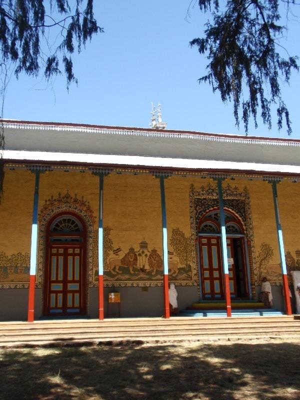 Kostel v Adis Alem, Etiopie (foto: Víťa Glomb)