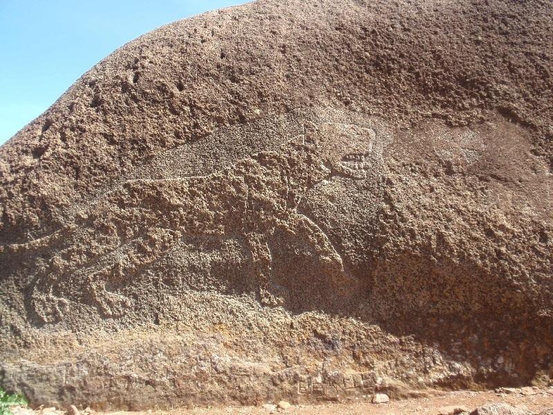 Lioness of Gobedra, Axum, Etiopie (foto: Víťa Glomb)