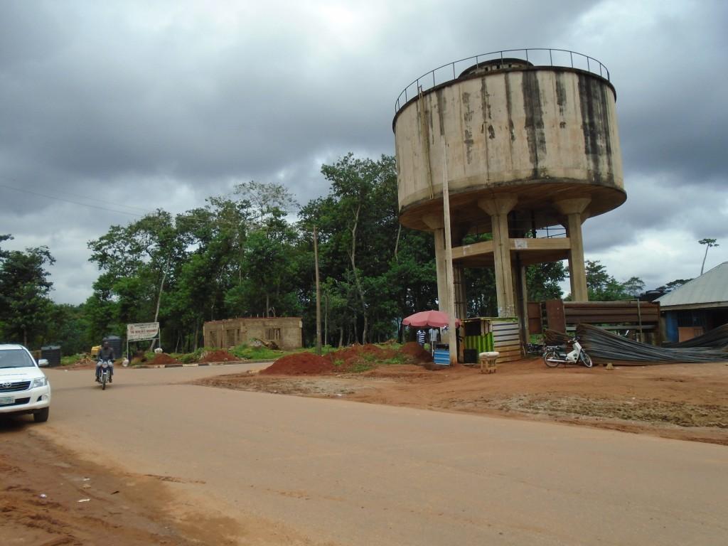 Vodojem v Obudu