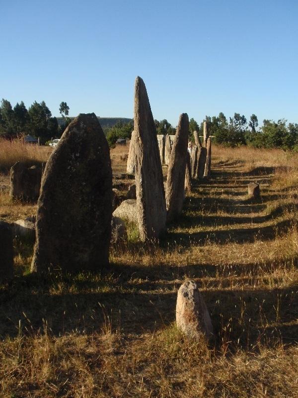 Stély v Tiya památka UNESCO, Etiopie (foto: Víťa Glomb)