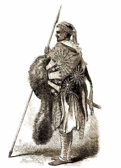 Pohlavár habešský
