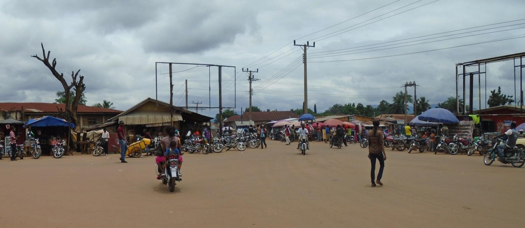 Hlavní náměstí v Obudu