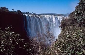 Viktoriiny vodopády (Zimbabwe)