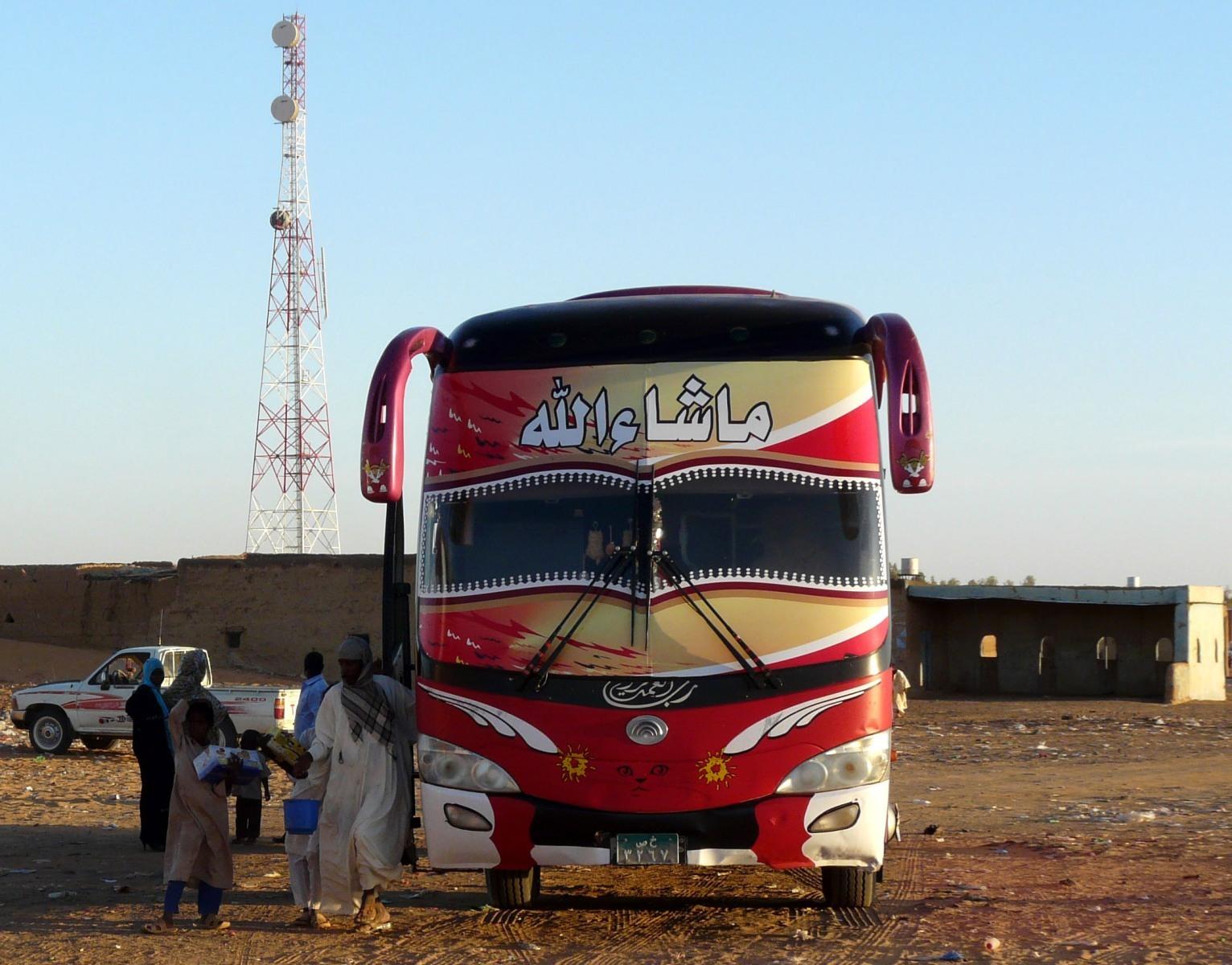 Autobus v Chártúmu