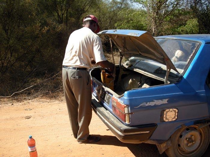 čerpací stanice, Madagaskar