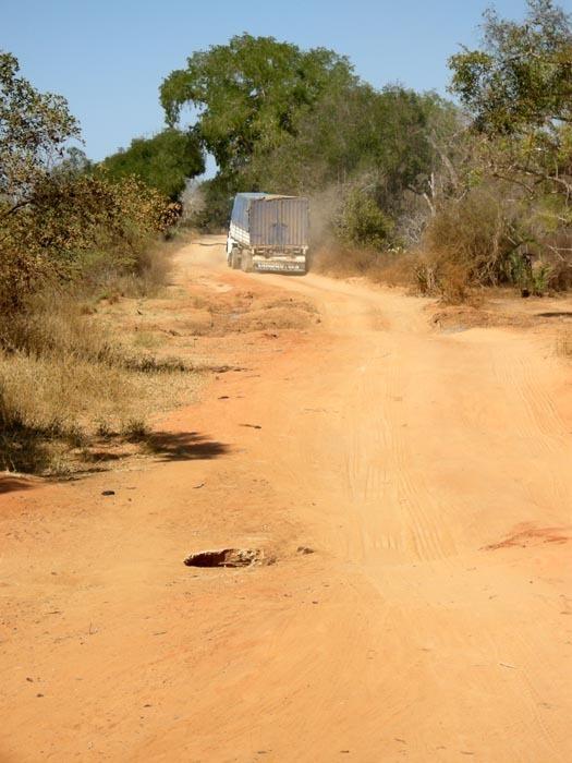 silnice u Ave du Baobab