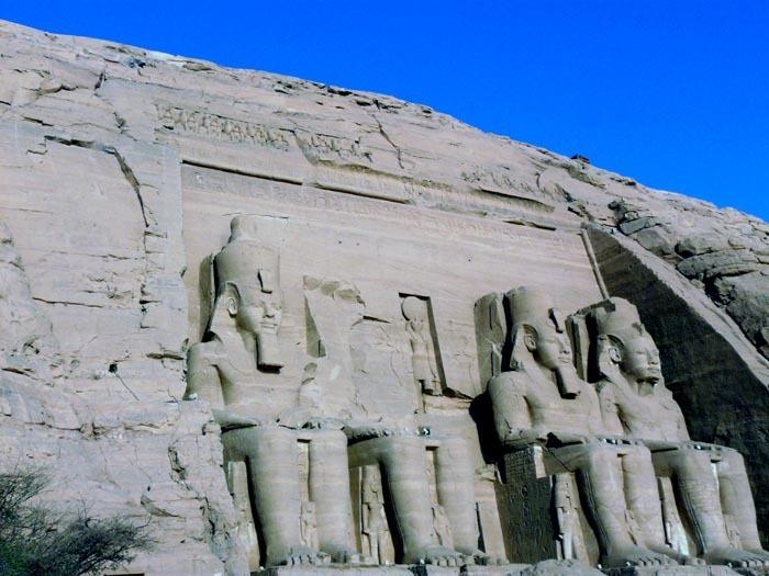 Sluneční chrám Abú Simbel