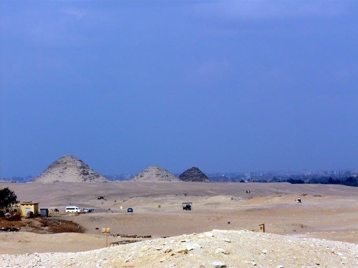 Abúsír pyramidy