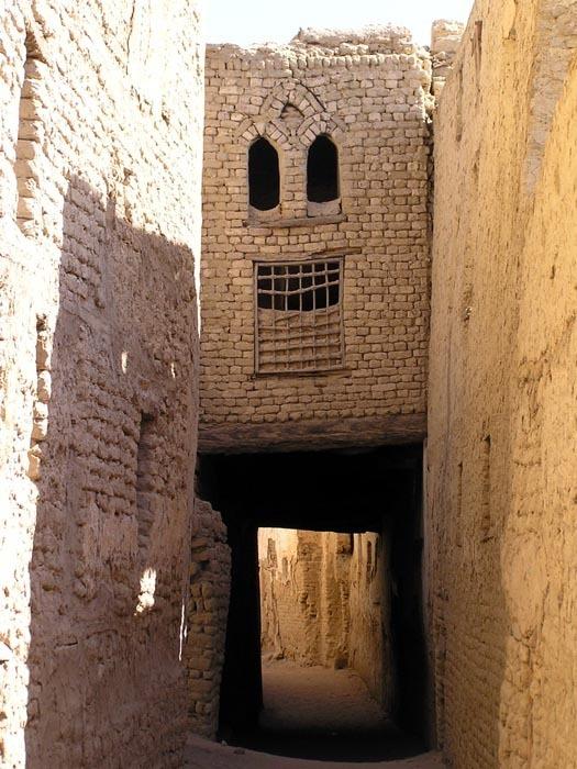 Ulička v AL-Qasru