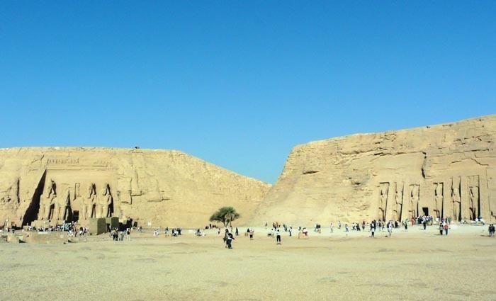 Chrámy Abú Simbel