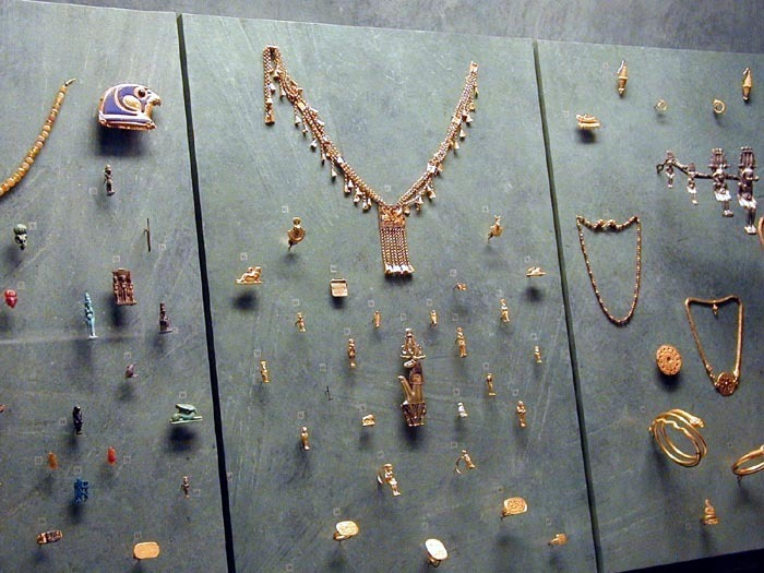 Staroegyptské šperky