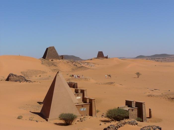 Královská nekropole Meroe
