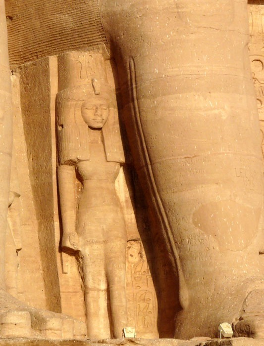 Nefertari - Abú Simbel