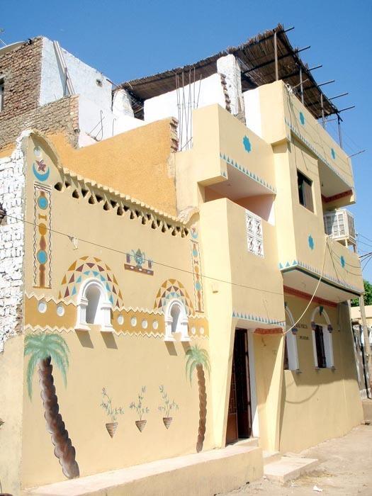 Núbijský dům v Asuánu