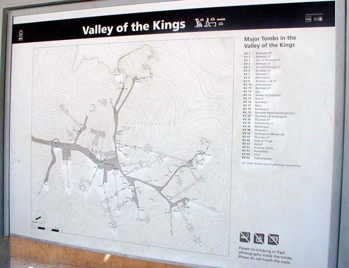 Ondřej Zikán: mapka Údolí králů