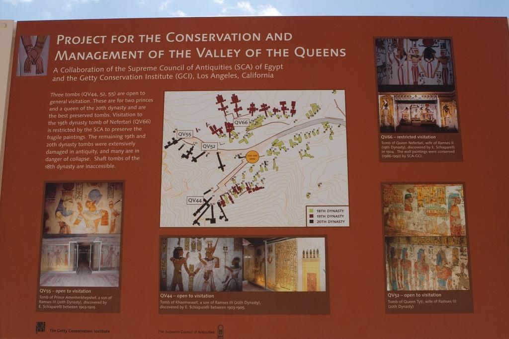 Paulo Ribeiro: mapka Údolí královen