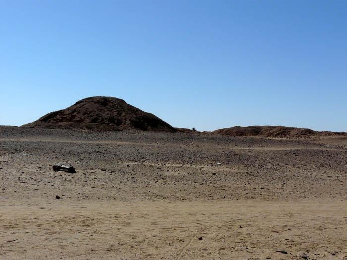 Piyova pyramida a zkamenělý strom