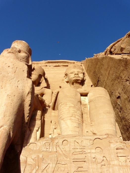 Ramesse II. v Abú Simbelu