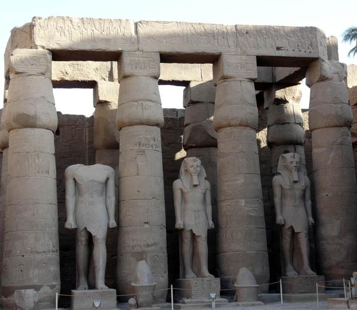 Ramesse Luxorský chrám