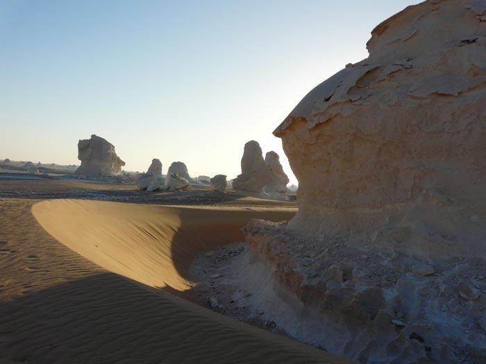 Bílá poušť návěj