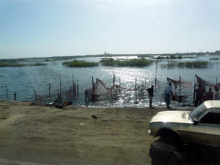 Rybáři, delta Nilu