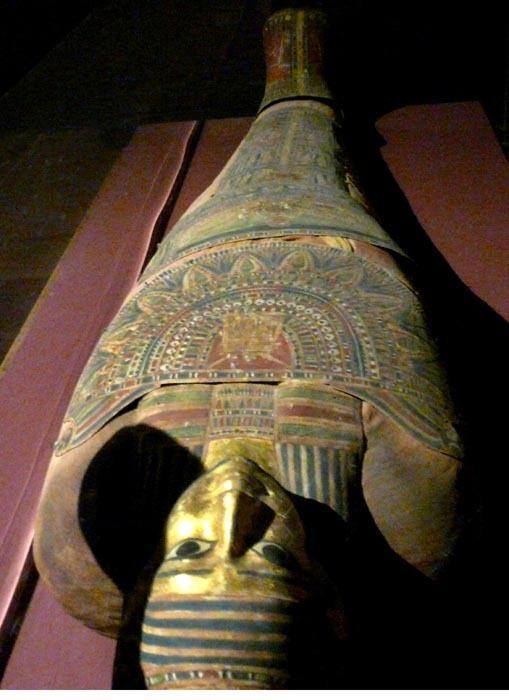 núbijská mumie
