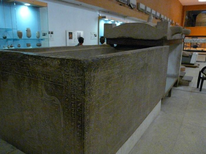 Sarkofág z pyramidy v Nuri
