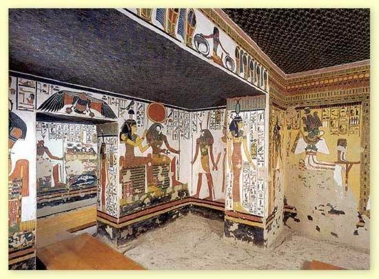 omdaa: hrobka Nefertari