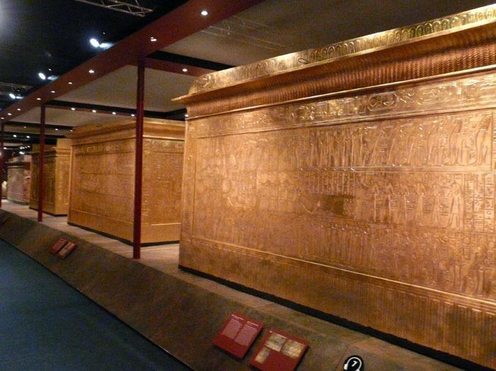 sarkofágy Tutanchamona