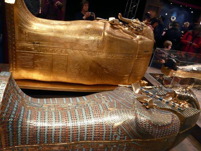 vnější rakve Tutanchomona