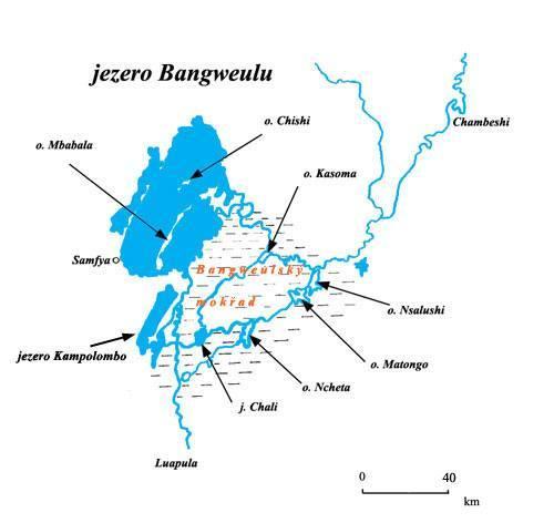 jezero Bangweulu