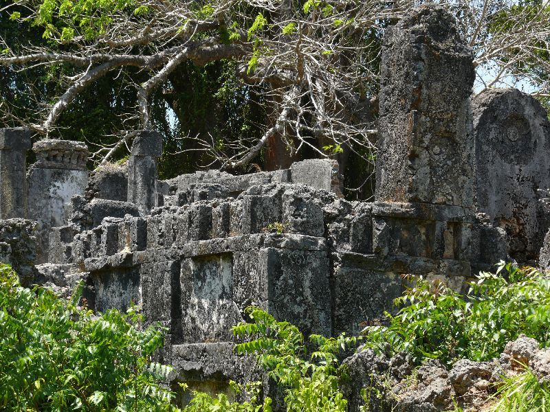 Tongoni ruins (foto: Pavel Kohout, Tanzanie)
