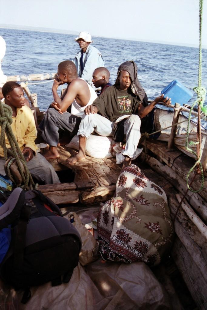 Jsme na moři (foto: Jaromír Němec, Tanzanie)