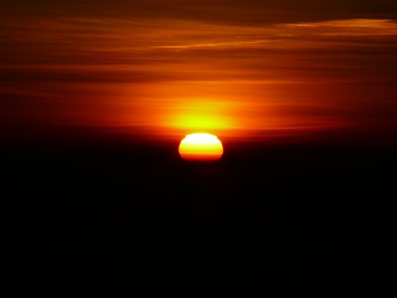 Východ Slunce nad Mawenzi