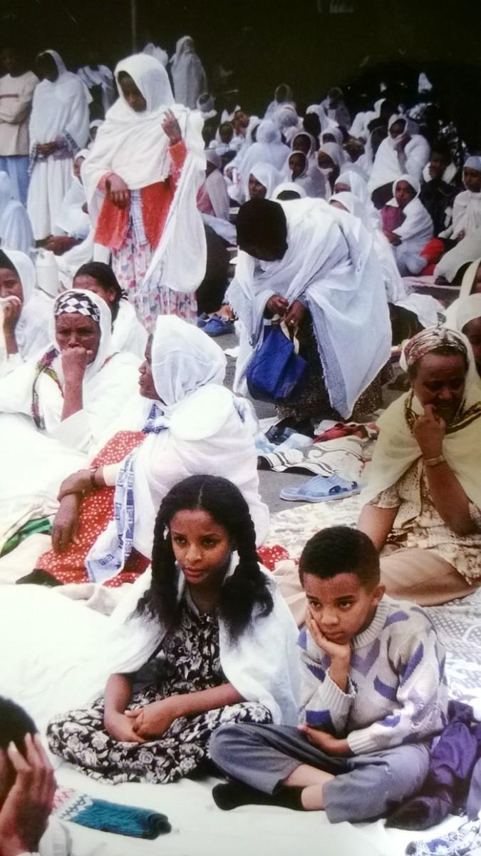 Addis Abeba - Zelený čtvrtek