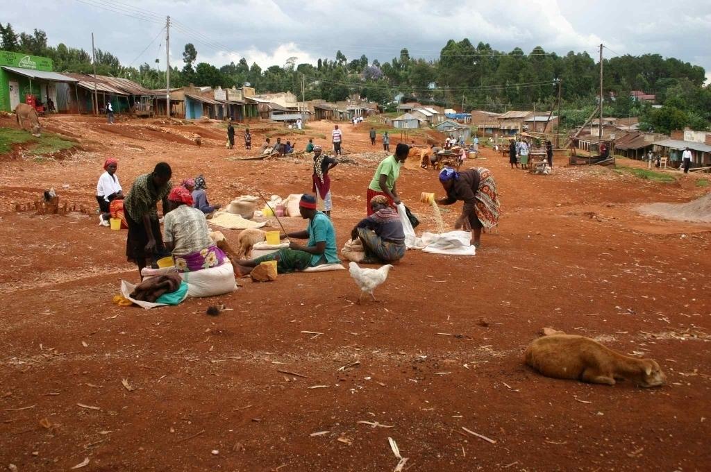 trh Tabaka, Keňa (foto: Hana Morávková)